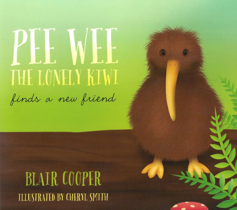 Pee Wee The Lonely Kiwi and FREE Pee Wee Plush Toy