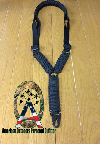 Single Point Tactical Sling - K&M Custom Paracord  - 1