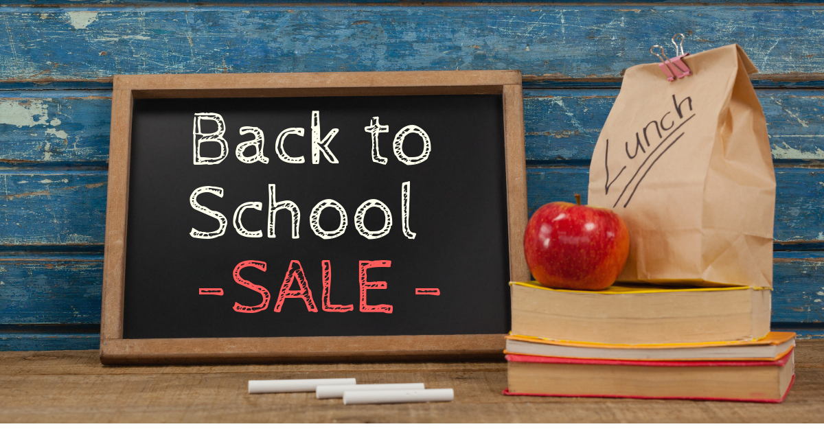 back to school to sale