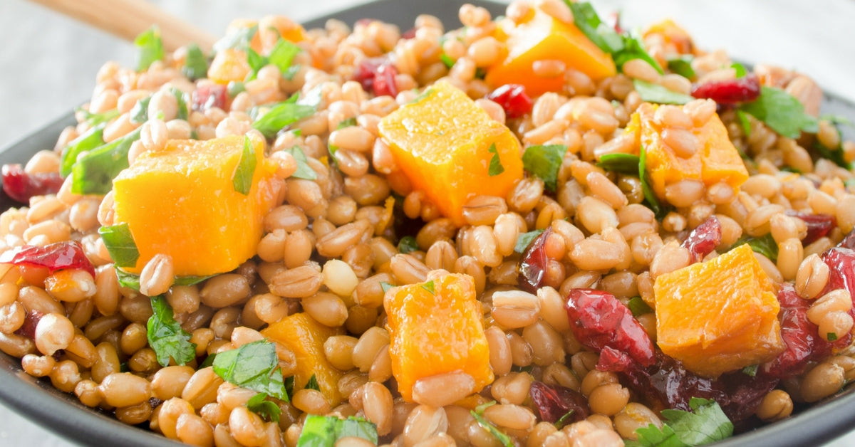 winter wheat fall salads