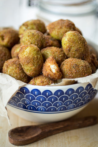 deep fried olives