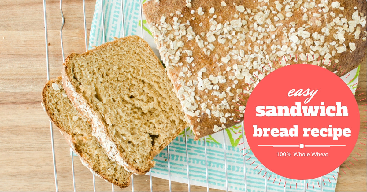 easy sandwich bread recipe