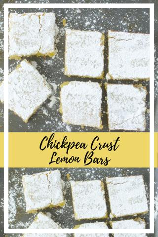 chickpea crust lemon bar