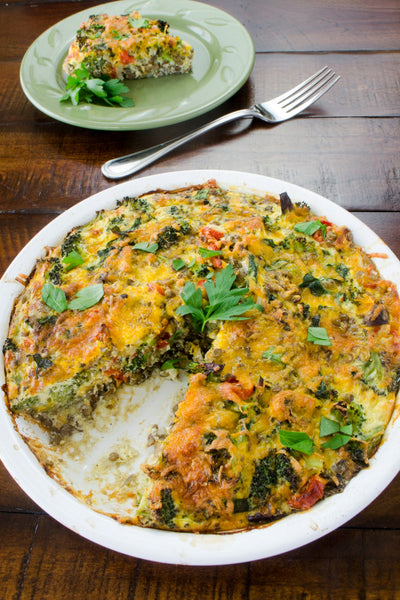 easy vegan quiche recipe