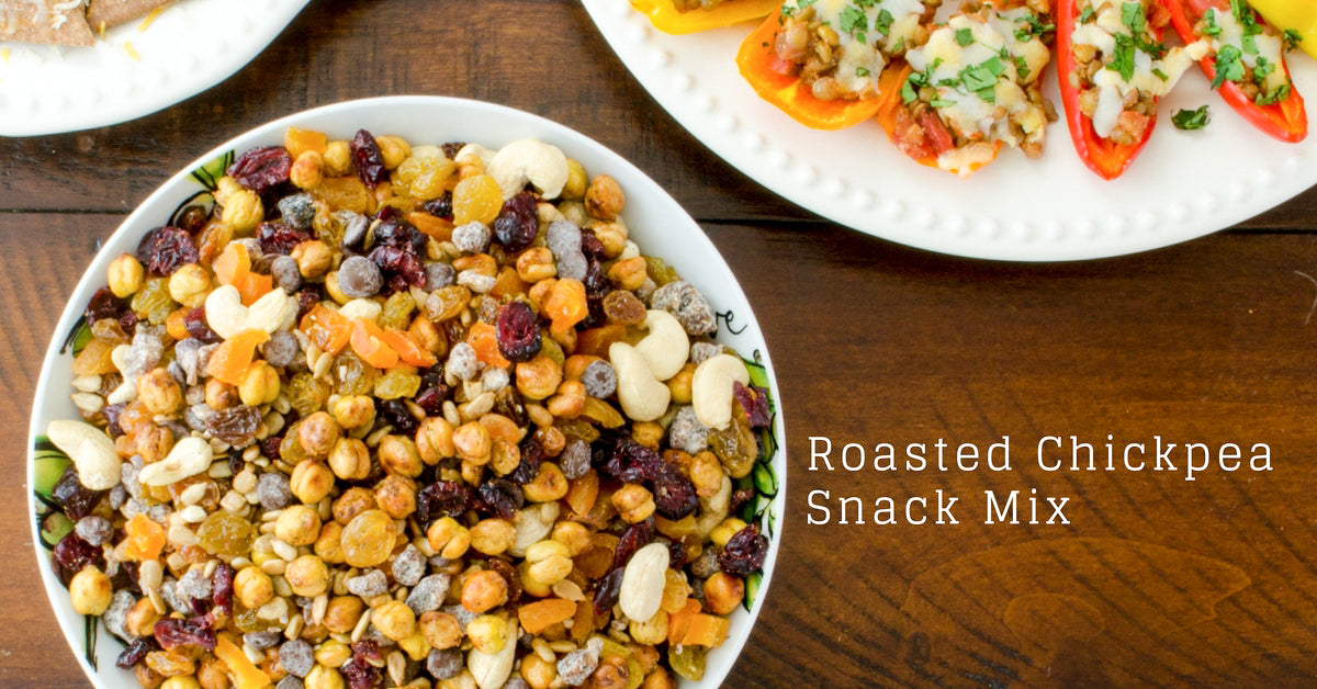 roasted snack mix