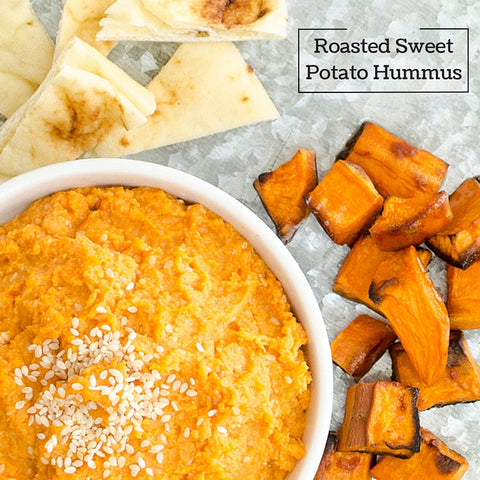 roasted sweet potato hummus