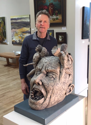 Studio Visit with Feature Artist David Barnes