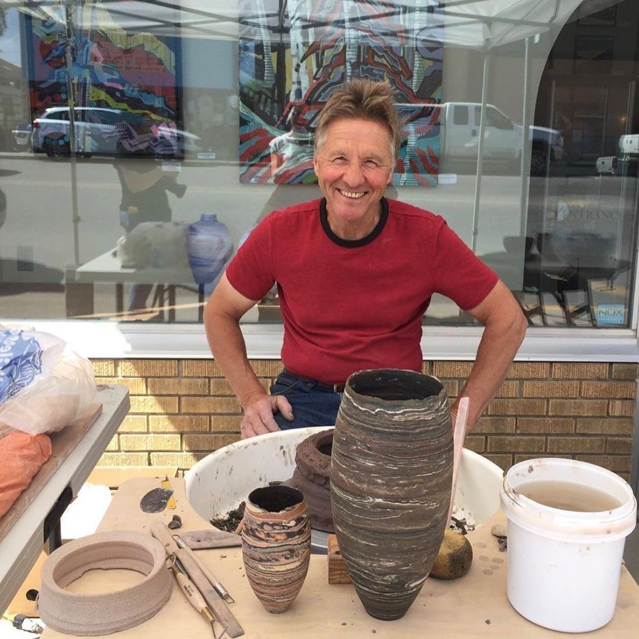 David Barnes Ceramics Demo - Saturday, July 4 1-4 p.m.