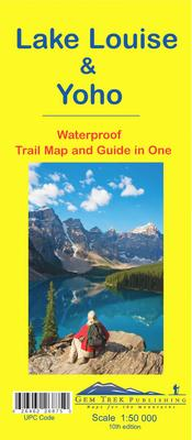 Lake Louise & Yoho Map