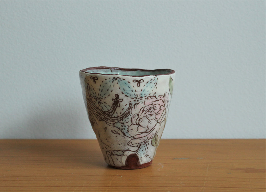 Red Clay Small Cup