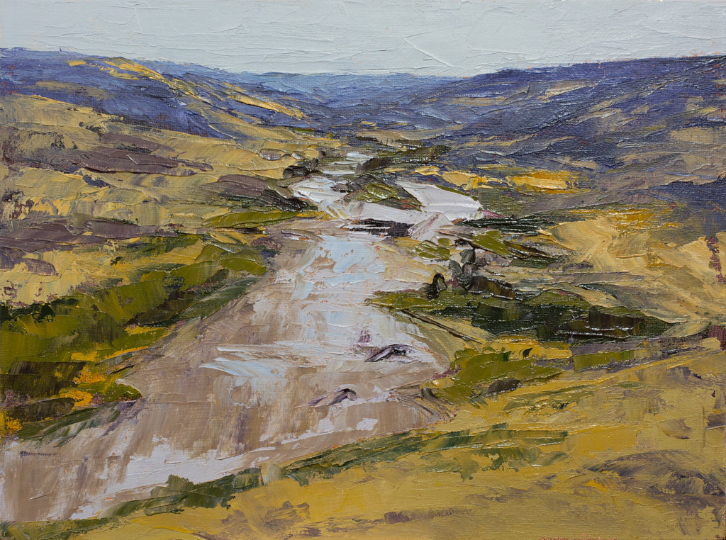 Prairie Spring (Plein Air at Howie, Alberta)