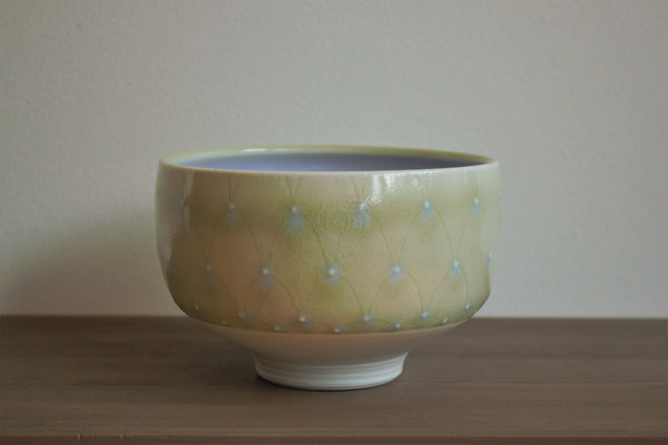 Patterned Enclosed Bowl