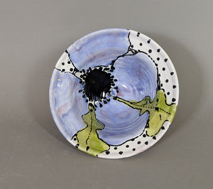 Purple Poppy Bowl