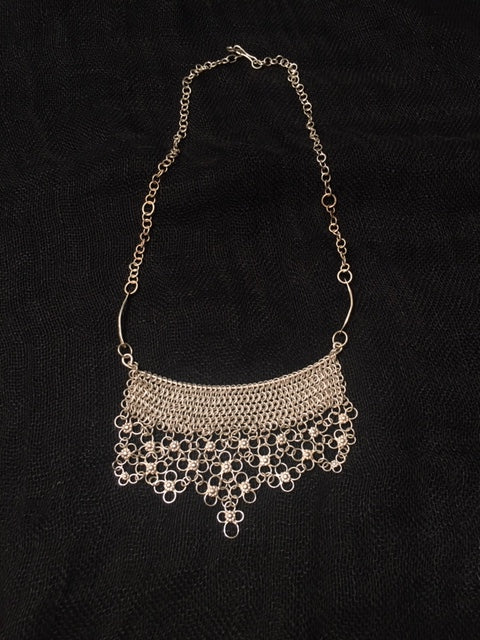 Necklace -Turkish Delight chainmaille