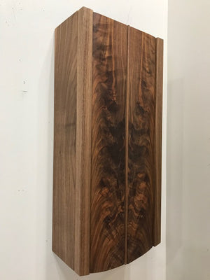 Walnut Wall Cabinet