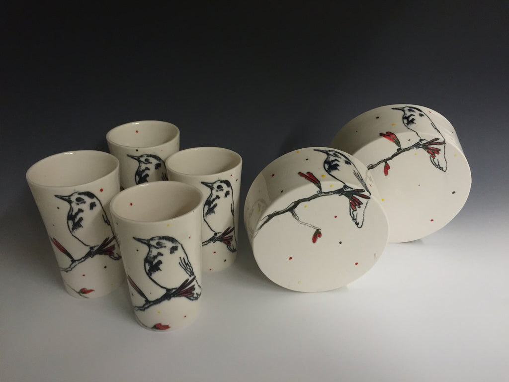 Birds on a Branch: Tumblers