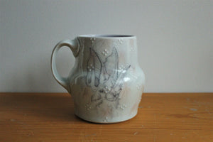 Sm. China Painted Mug - Bat 1