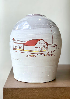 A Small Town on a Big Pot