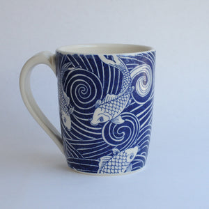 Tall Porcelain Mug 21-4