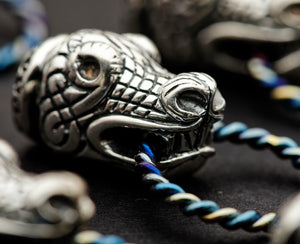 Viking Dragon Head Key Chain