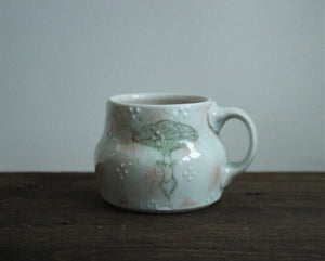 China Painted Americano Mug