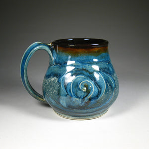 Large Mug - Blue Short