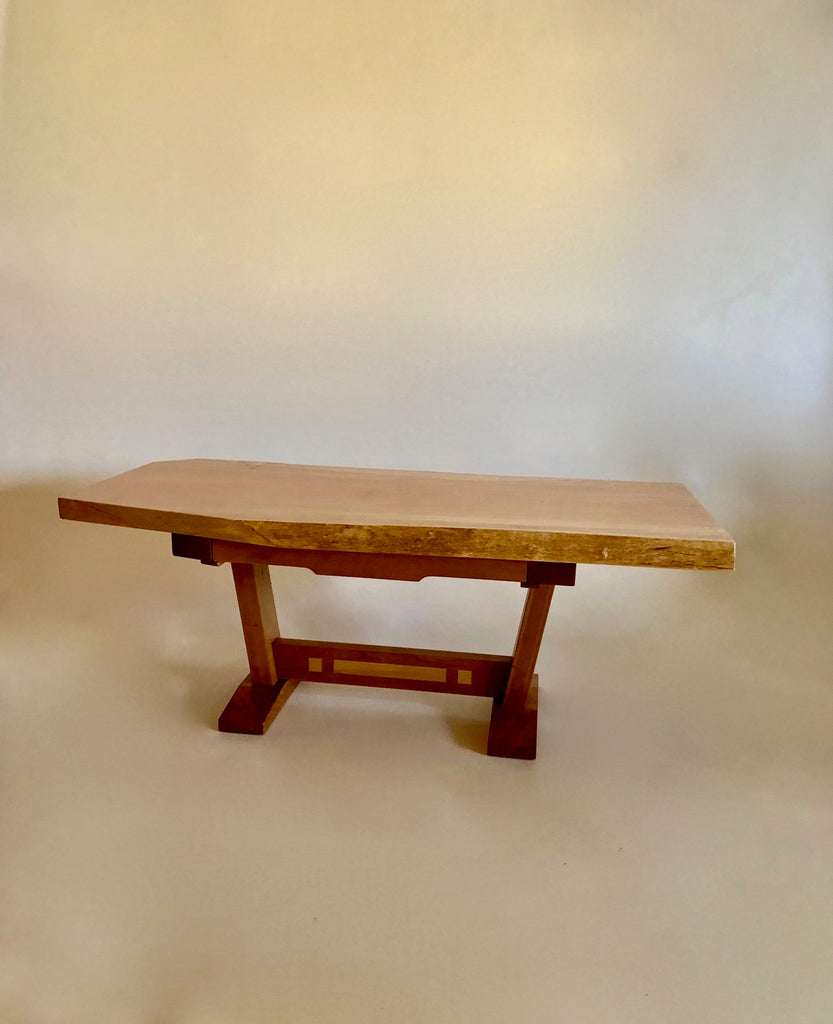 Live-edge Maple & Cherry Table