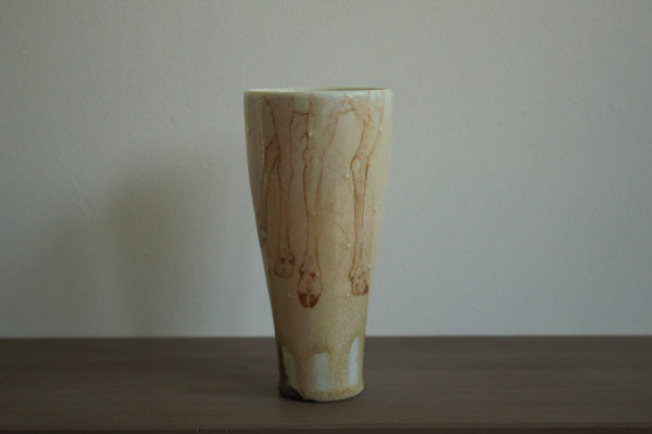 Tumbler with China Paint