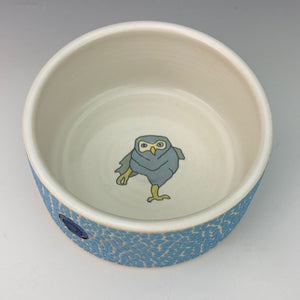 Porcelain Ramekin with Owl