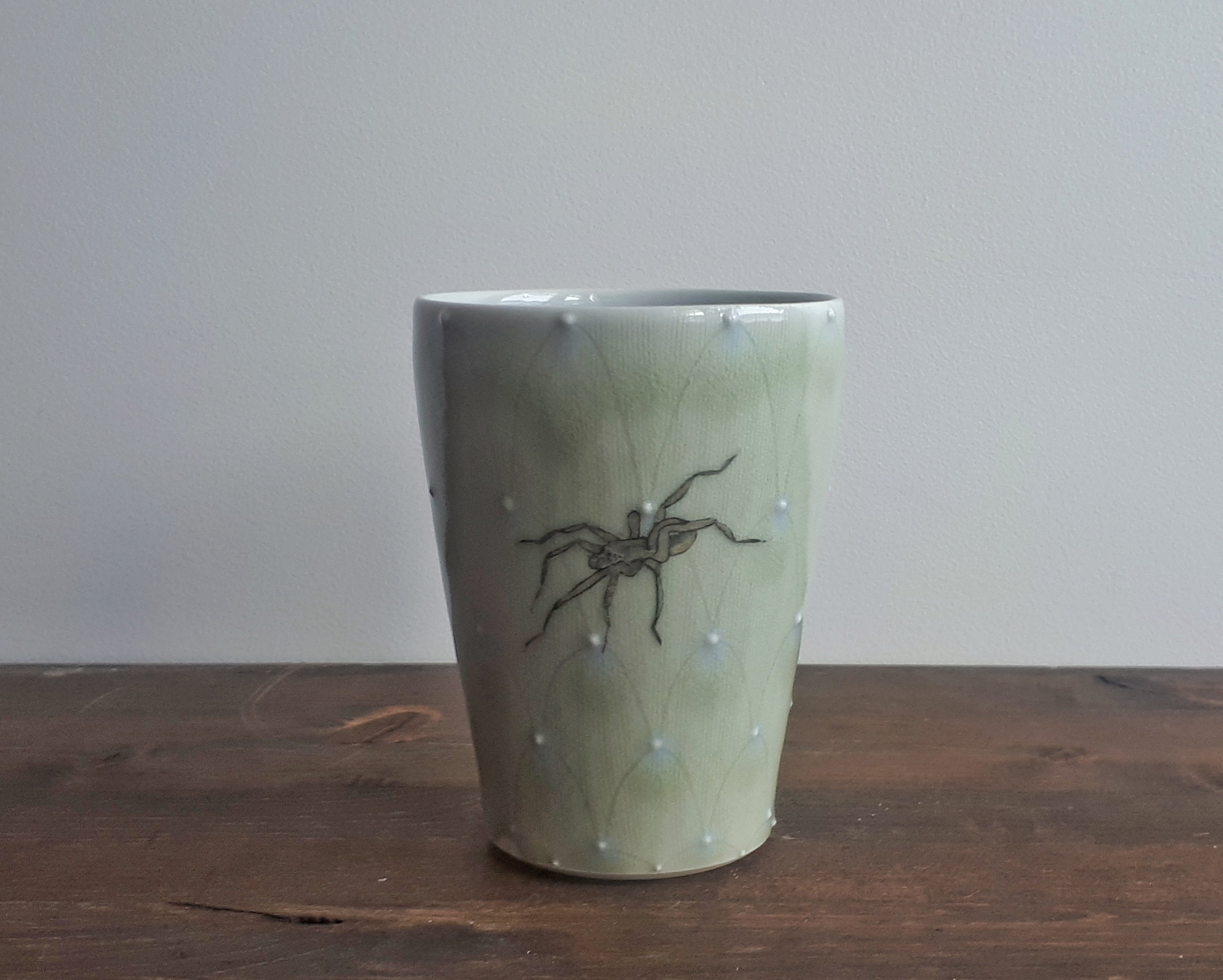 China Painted Juice Cup