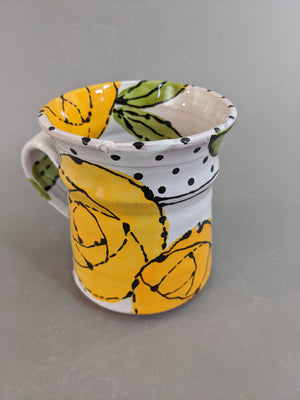 Large Mug, Yellow Rose