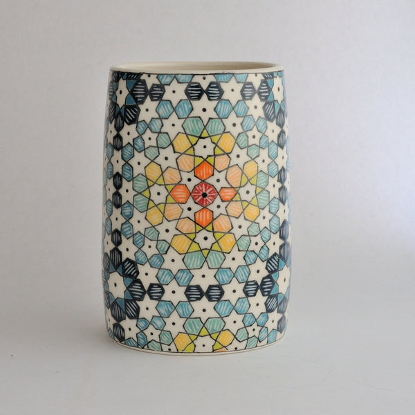 Midnight Star Vase