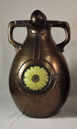 Wildrose/Sunflower Ceremonial Vase