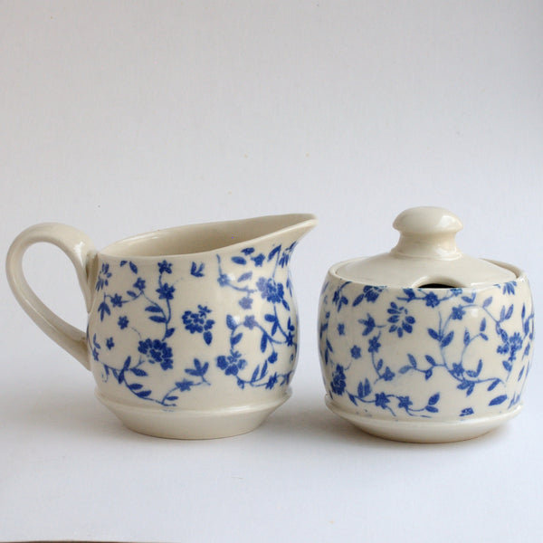 Sugar & Creamer Set - Blue
