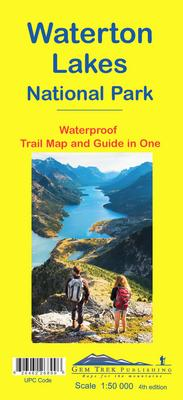Waterton Lakes National Park Map
