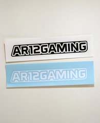 2 AR12GAMING Decals