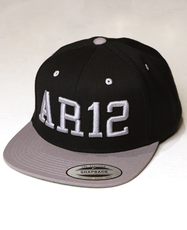 AR12 Snapback [Grey Edition]