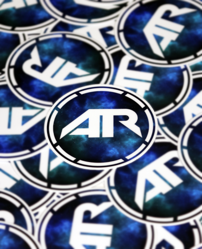 AR12 GTR Wrap Stickers