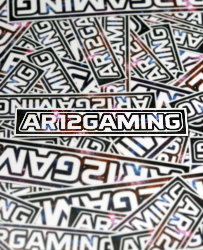 AR12Gaming Galaxy Decals