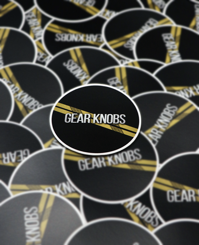 Official Gear Knobs Stickers