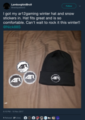 AR12 Winter Hat  (Limited Time)