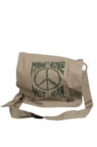 Make Love Not War Bag