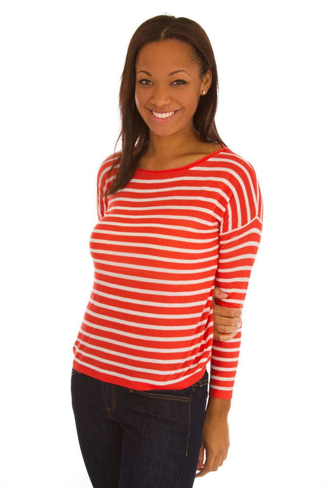 Earn Your Stripes Sweater