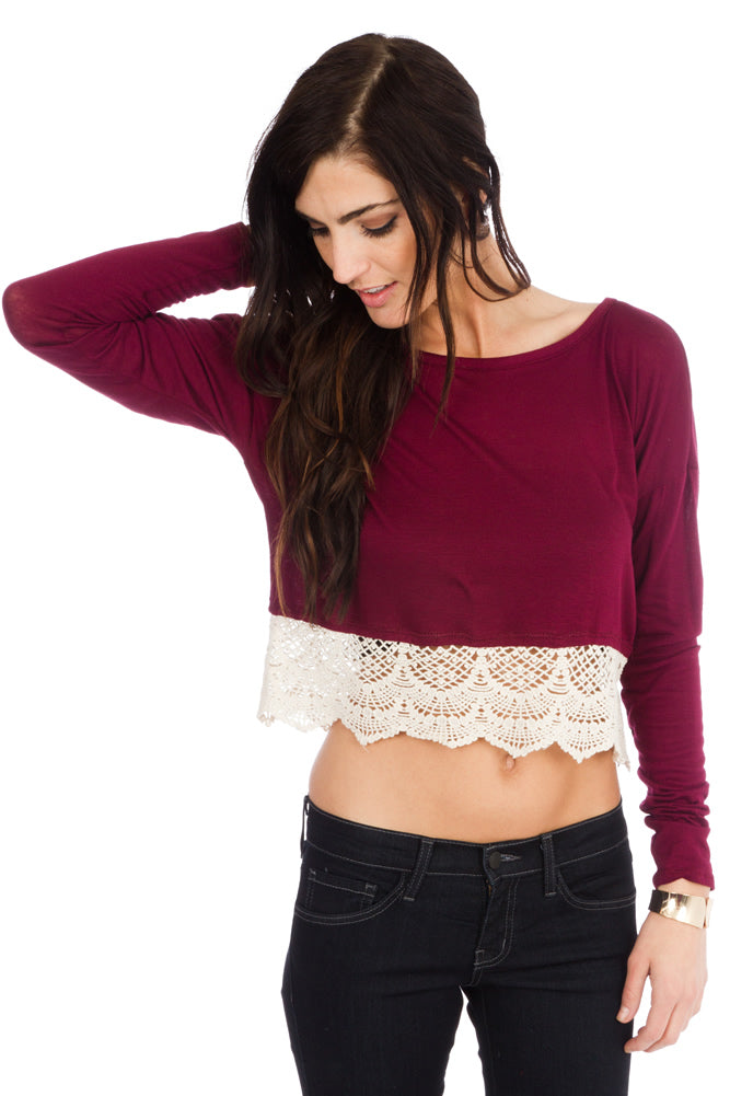 Dressed to Chill Crop Top