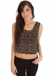 Blu Pepper Precious Posy Top