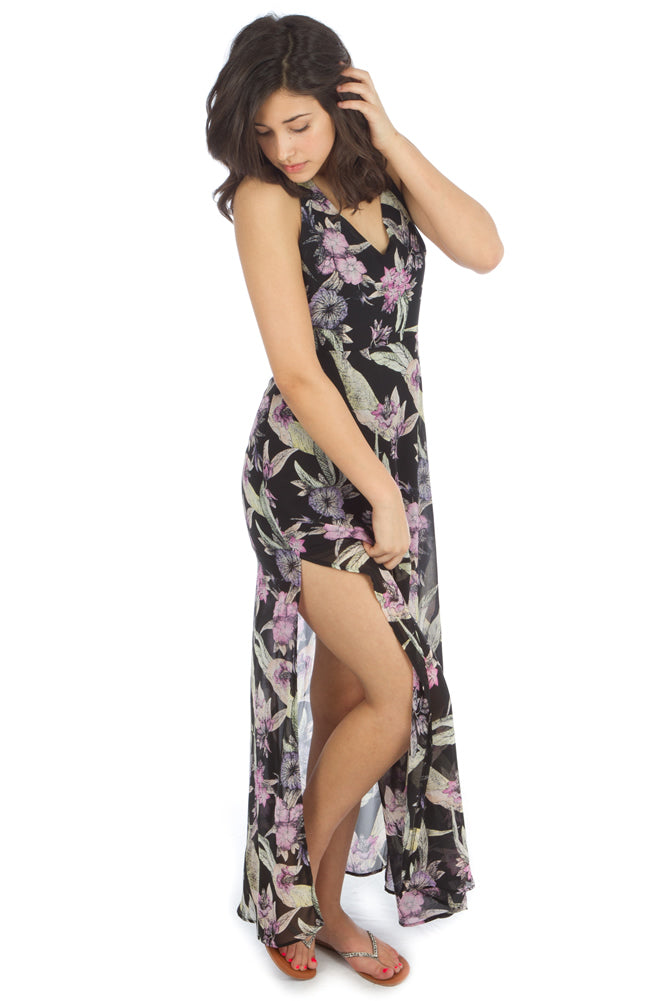 Lush Enchanting Orchid Dress