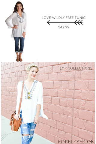 Love Wildly Free Tunic