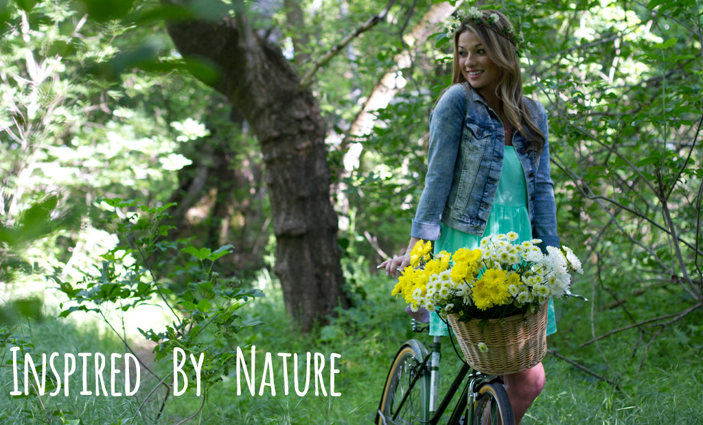 inspired by nature lookbook