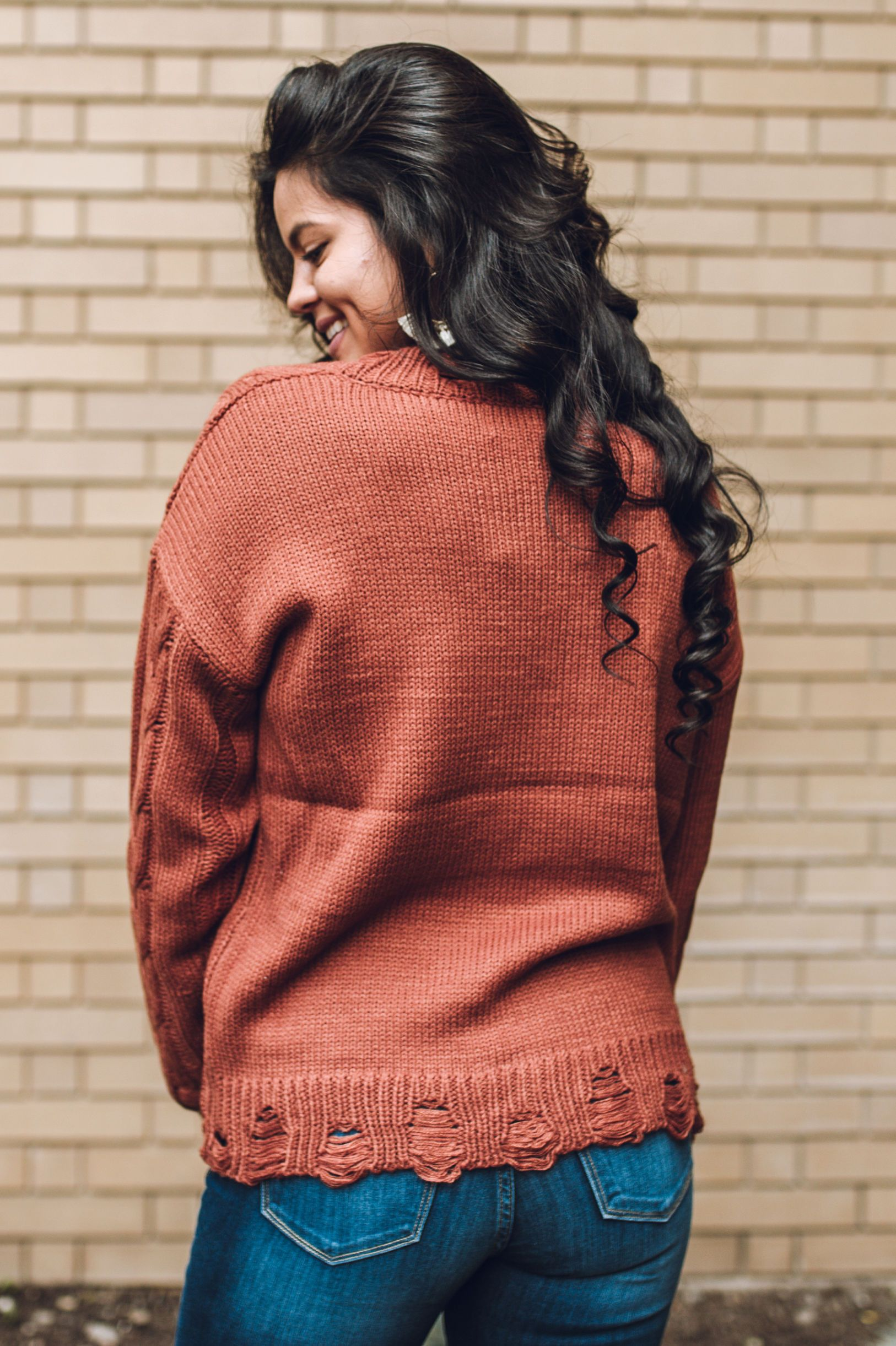 Gathered Together Sweater