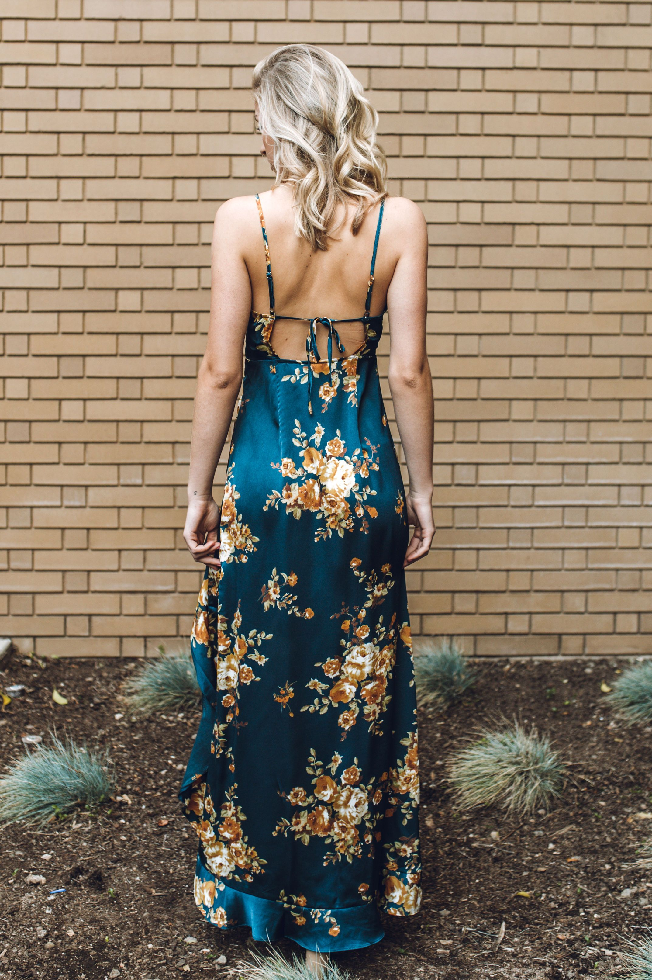 Painted Petals Dress